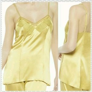 La Perla Zigzag Camisole Silk Tulle Night Shirt